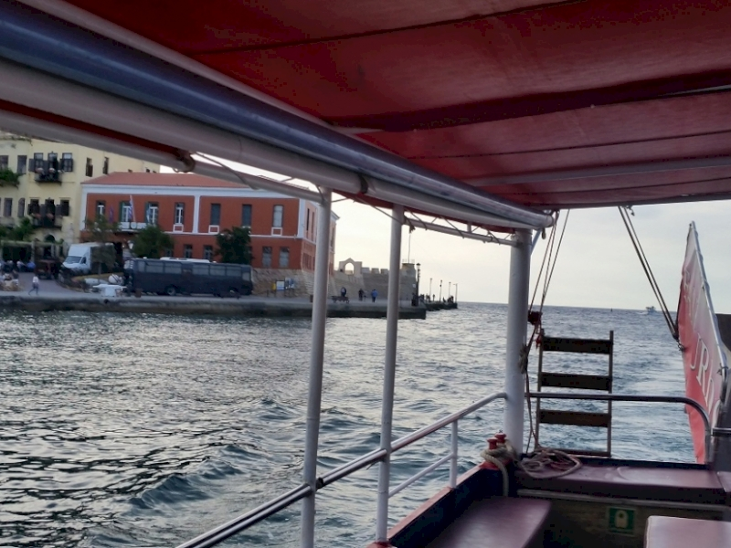 Chania Boat Trip Chania Cruises | Chania Glass Bottom Boat Trips