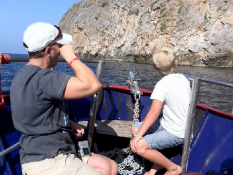 Chania Boat Trip to Theodorou | Chania Glass Bottom Boat Trips